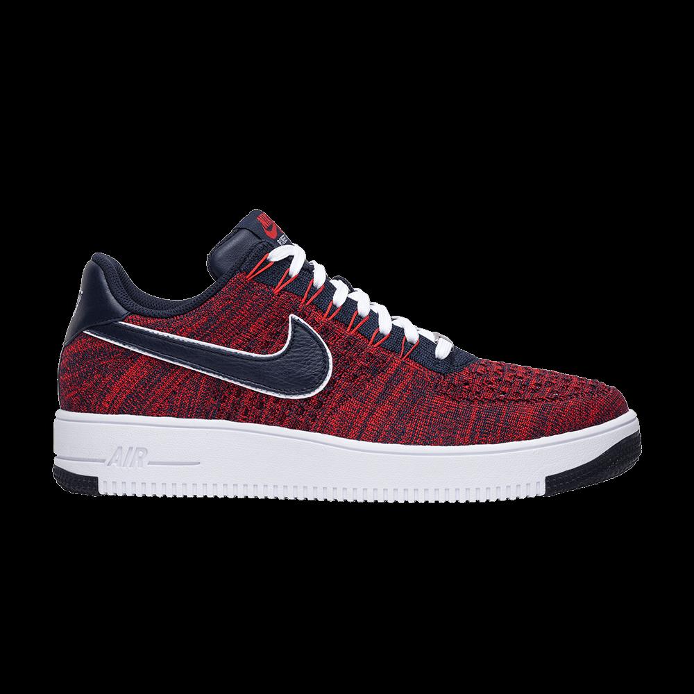 sale retailer e14f6 1a08c Robert Kraft x Air Force 1 Ultra Flyknit  Patriots  - Nike - AH8425 600    GOAT