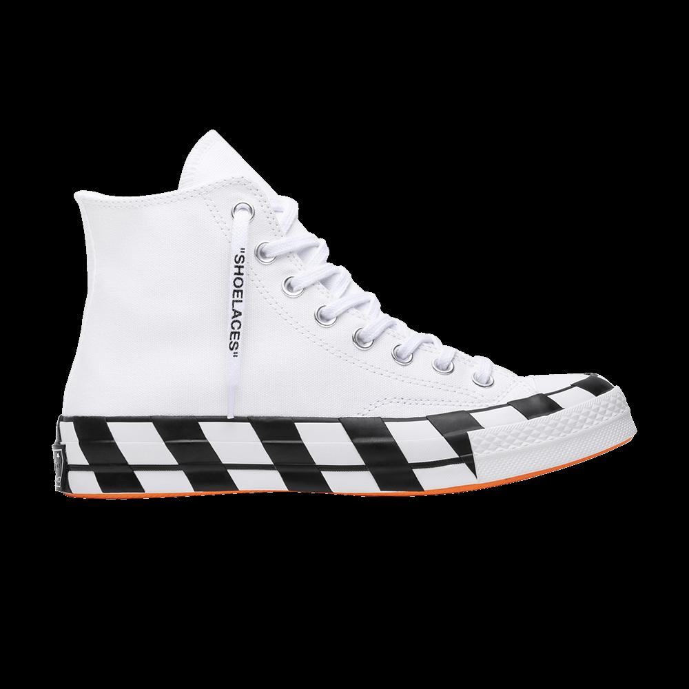 88cf24c4871096 OFF-WHITE x Chuck 70  White  - Converse - 163862C