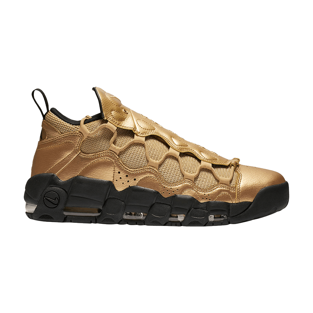 7932241eea4 Air More Money  Metallic Gold