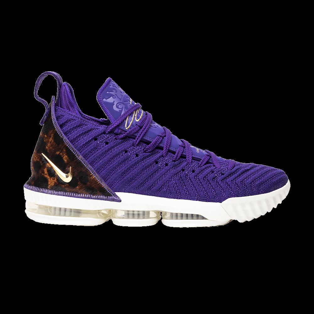 04ee44034192ab LeBron 16  King Court Purple  - Nike - AO2588 500