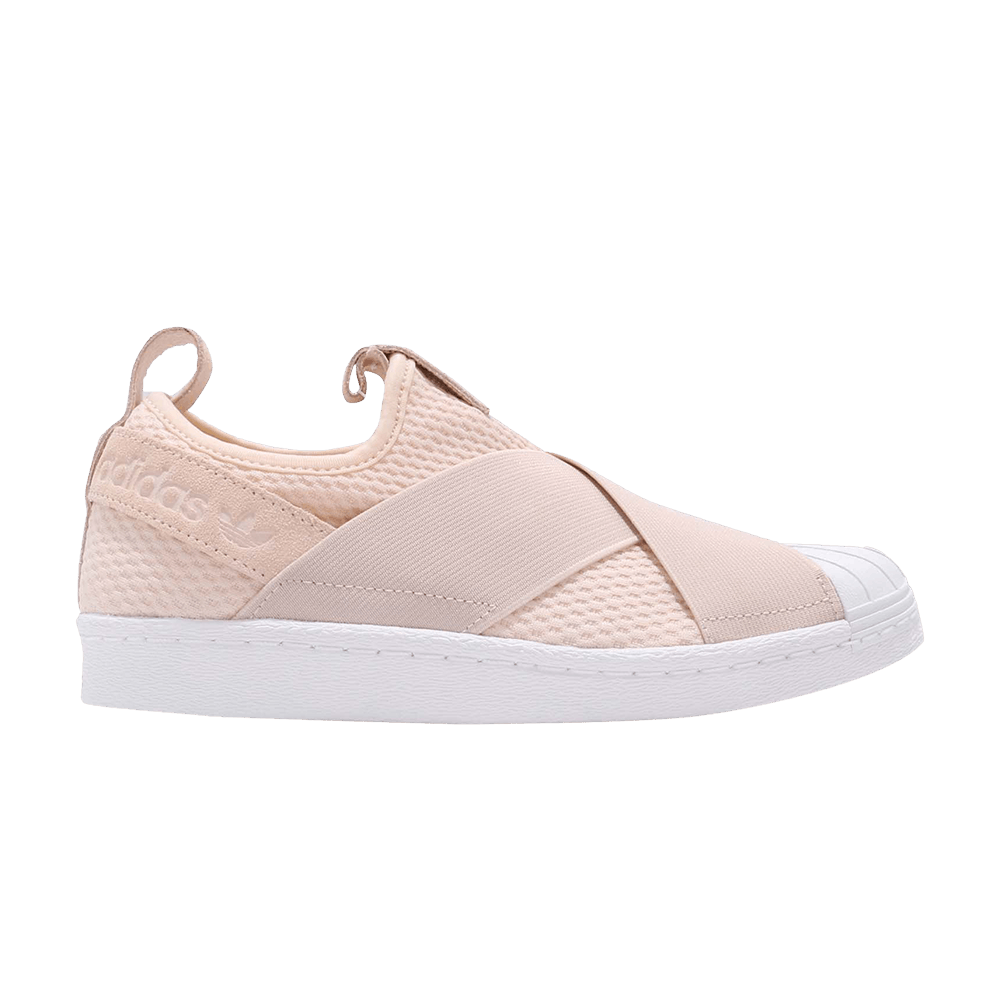 buy online d9b73 e3ce9 Wmns Superstar Slip On Linen - adidas - CQ2383  GOAT