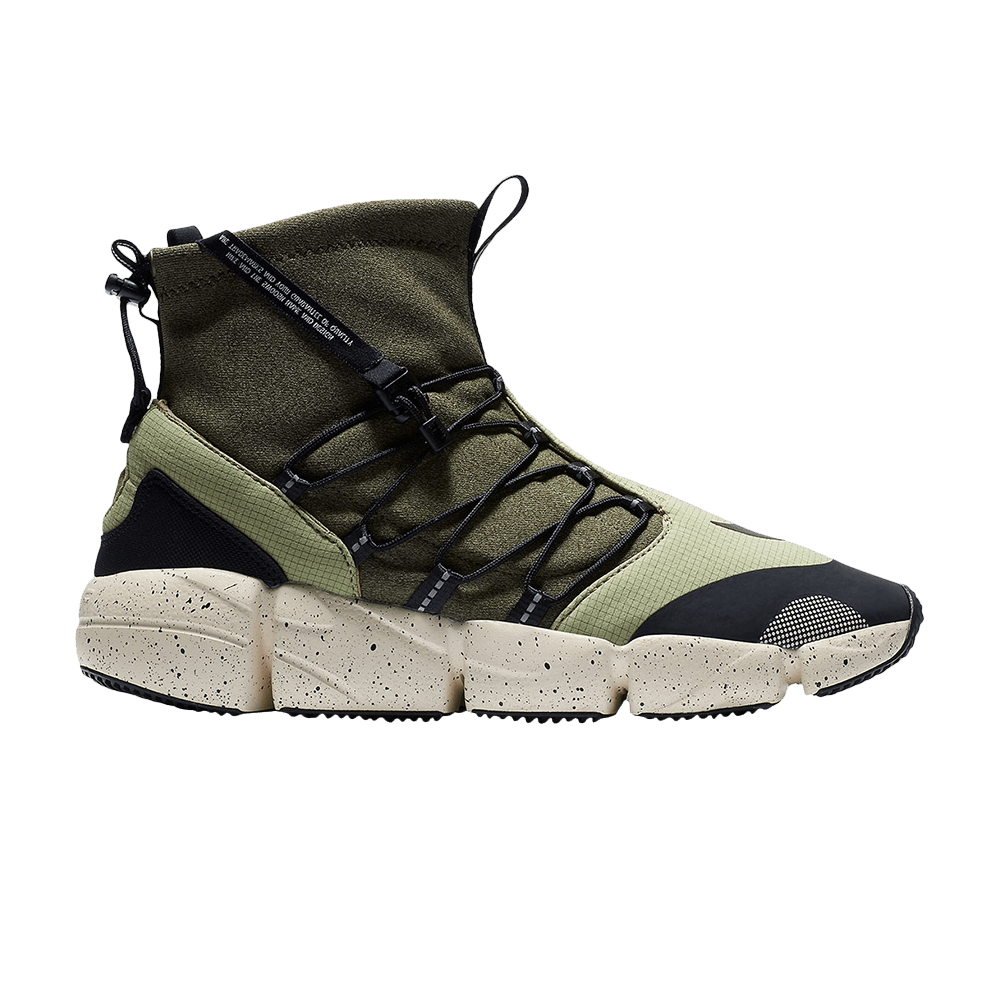 53c814bf7a Air Footscape Mid Utility DM 'Neutral Olive' - Nike - AH8689 200 | GOAT