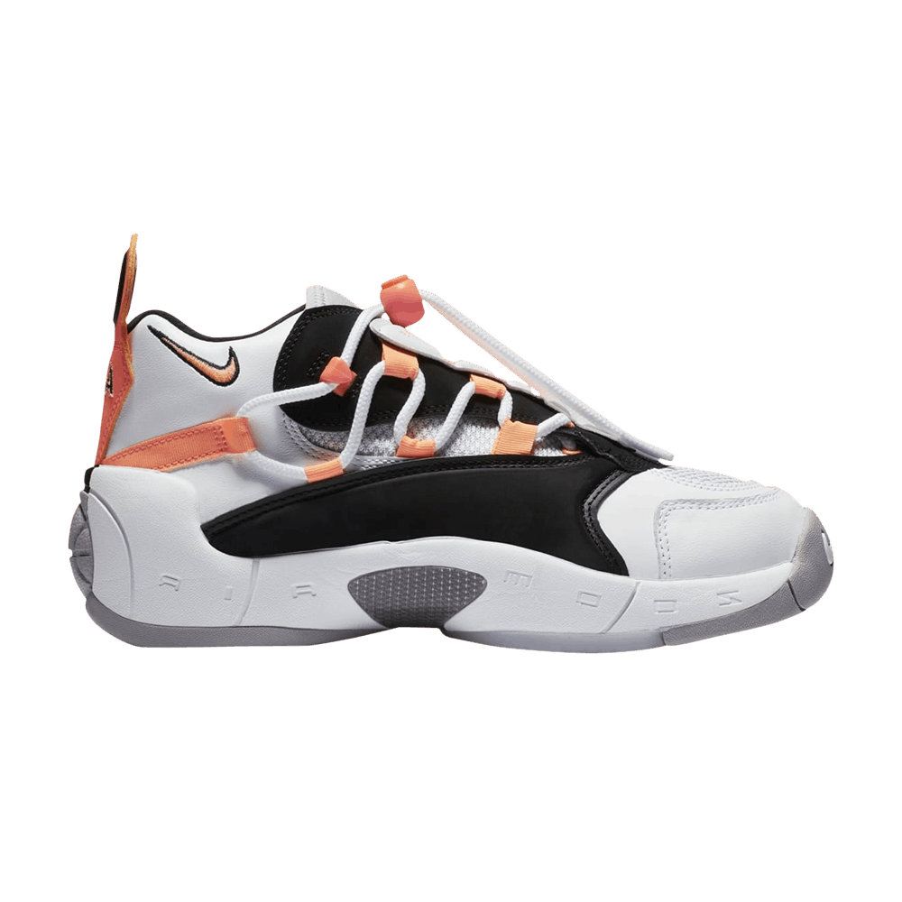 5299f56d345 Wmns Air Swoopes 2  Orange Pulse  - Nike - 917592 102