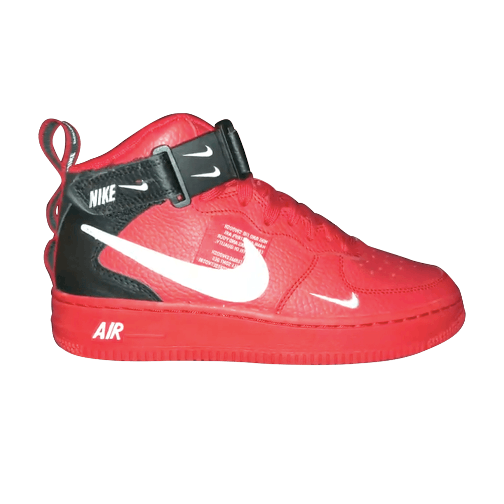 d1ea7fa49d Air Force 1 Mid LV8 GS 'University Red' - Nike - AV3803 600 | GOAT