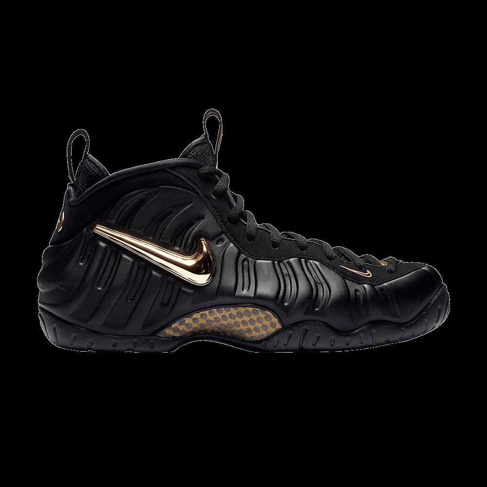 timeless design 47f75 28d46 Air Foamposite Pro  Black Metallic Gold  - Nike - 624041 009   GOAT