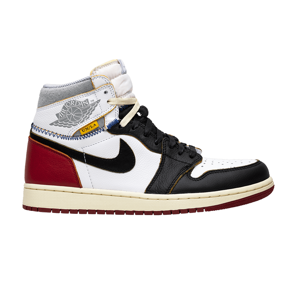 562c3e6e6d33 Union x Air Jordan 1 Retro High  Black Toe  - Air Jordan - BV1300 106