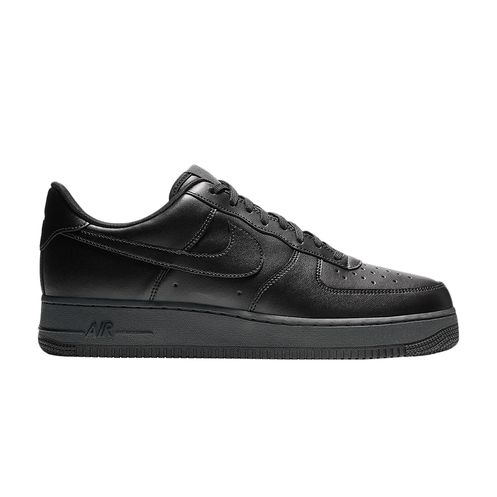 Air Force 1 Flyleather 'Black'