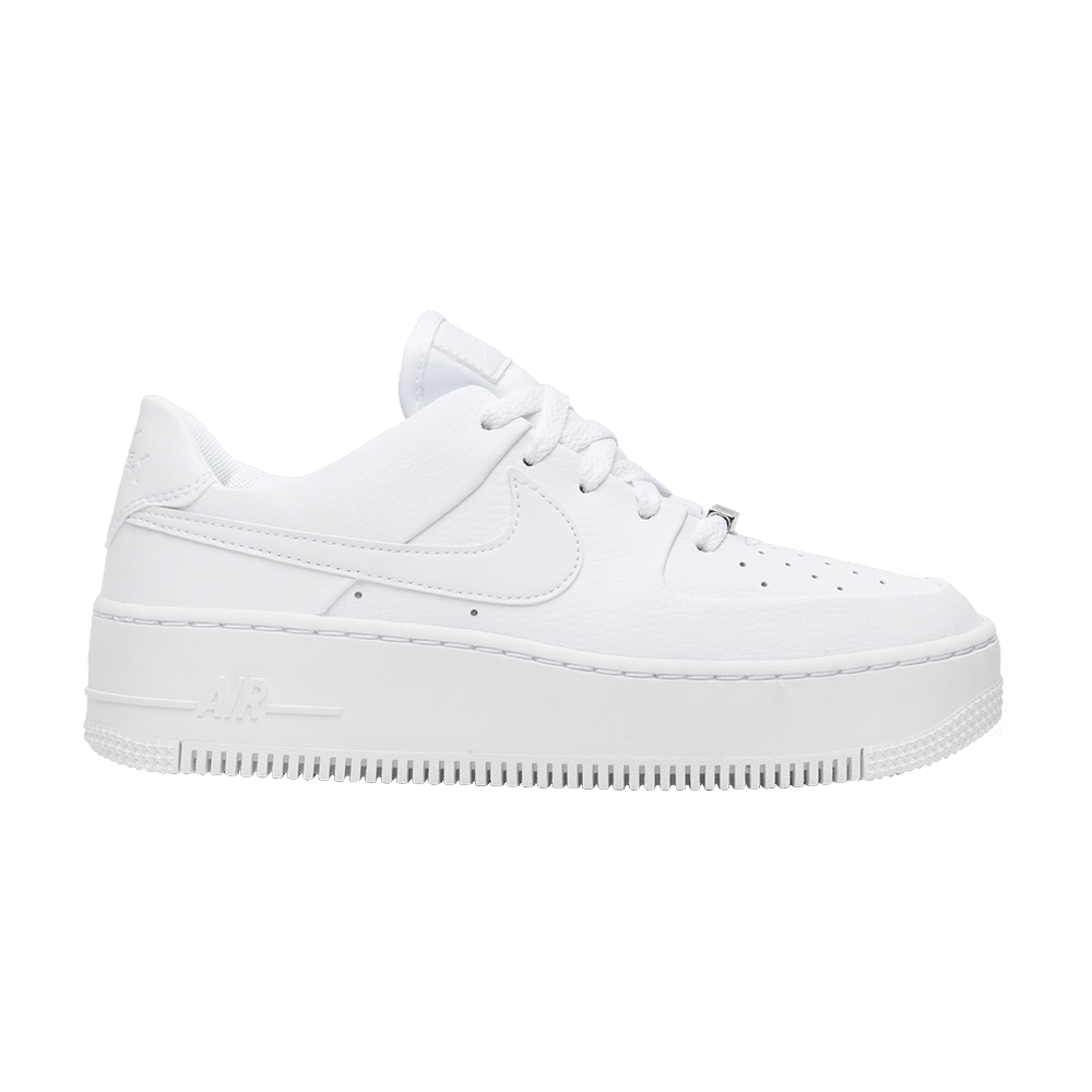 on sale 08996 acd66 Wmns Air Force 1 Sage Low  Triple White  - Nike - AR5339 100   GOAT