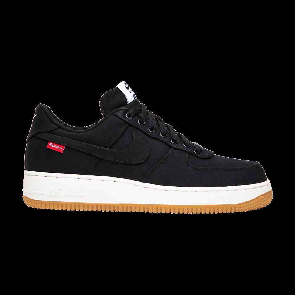 ecfd603b71 Supreme x Air Force 1 Low Premium '08 NRG 'Black' - Nike - 573488 090 | GOAT