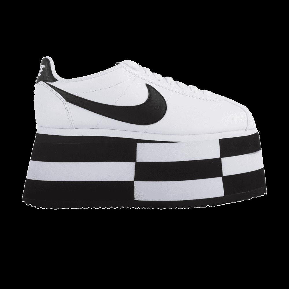 huge discount 9190a e5568 COMME des Garcons x Wmns Cortez 'Check White' - Nike ...