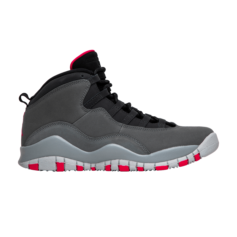 Air Jordan 10 Retro GS  Smoke Grey  - Air Jordan - 487211 006  dff5b94b6