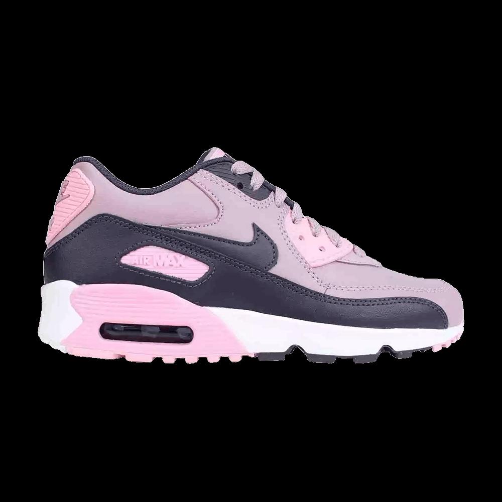 Nike Air Max 90 Leather (GS) Elemental Rose Gridiron Pink | Footshop