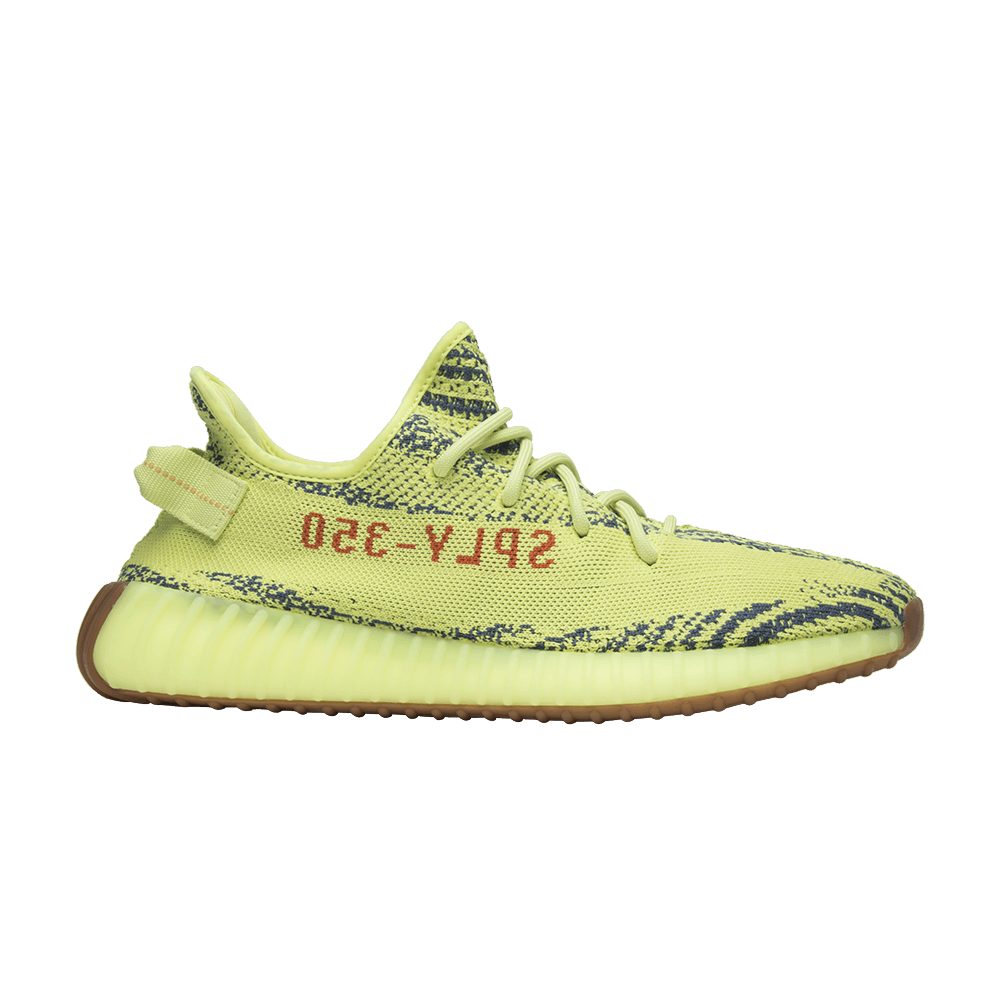 816a54172 Yeezy Boost 350 V2  Semi Frozen Yellow  - adidas - B37572