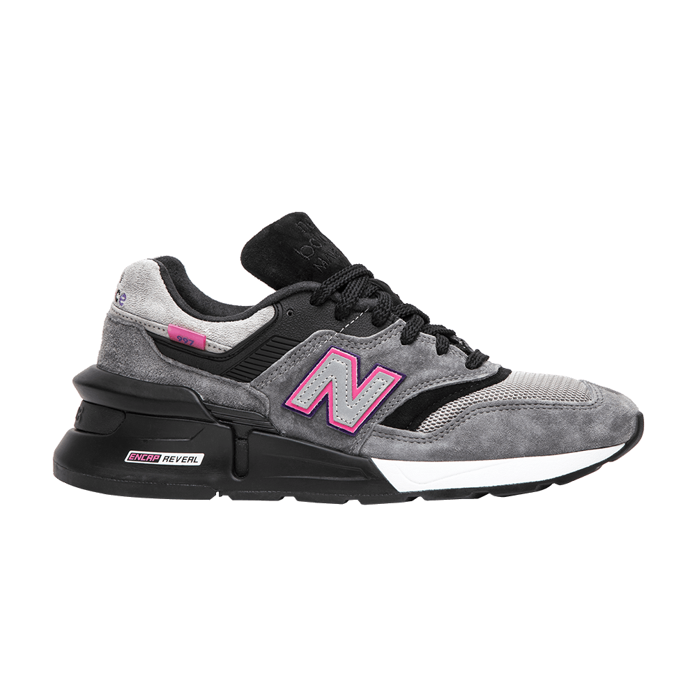 80d07783f5746 KITH x United Arrows   Sons x 997S Fusion  Grey Black Pink  - New Balance -  M997SKH