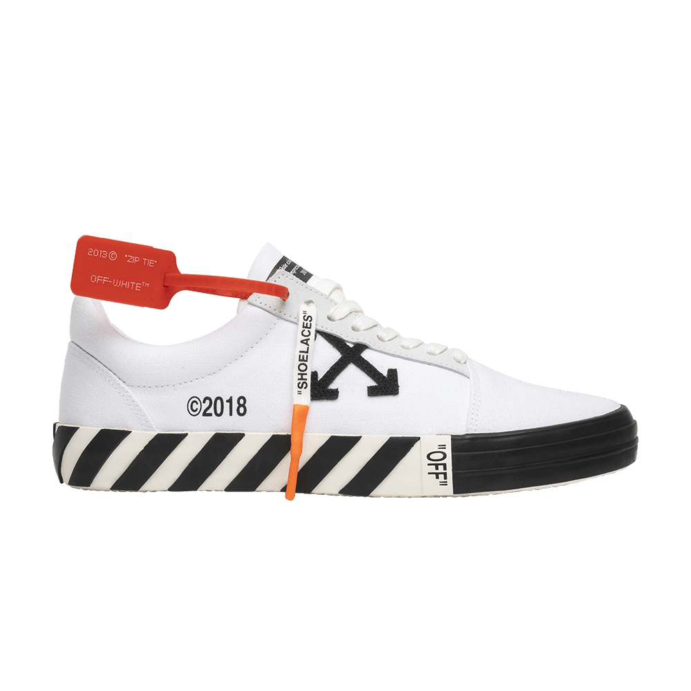 Off White Vulc Low Top White Off White