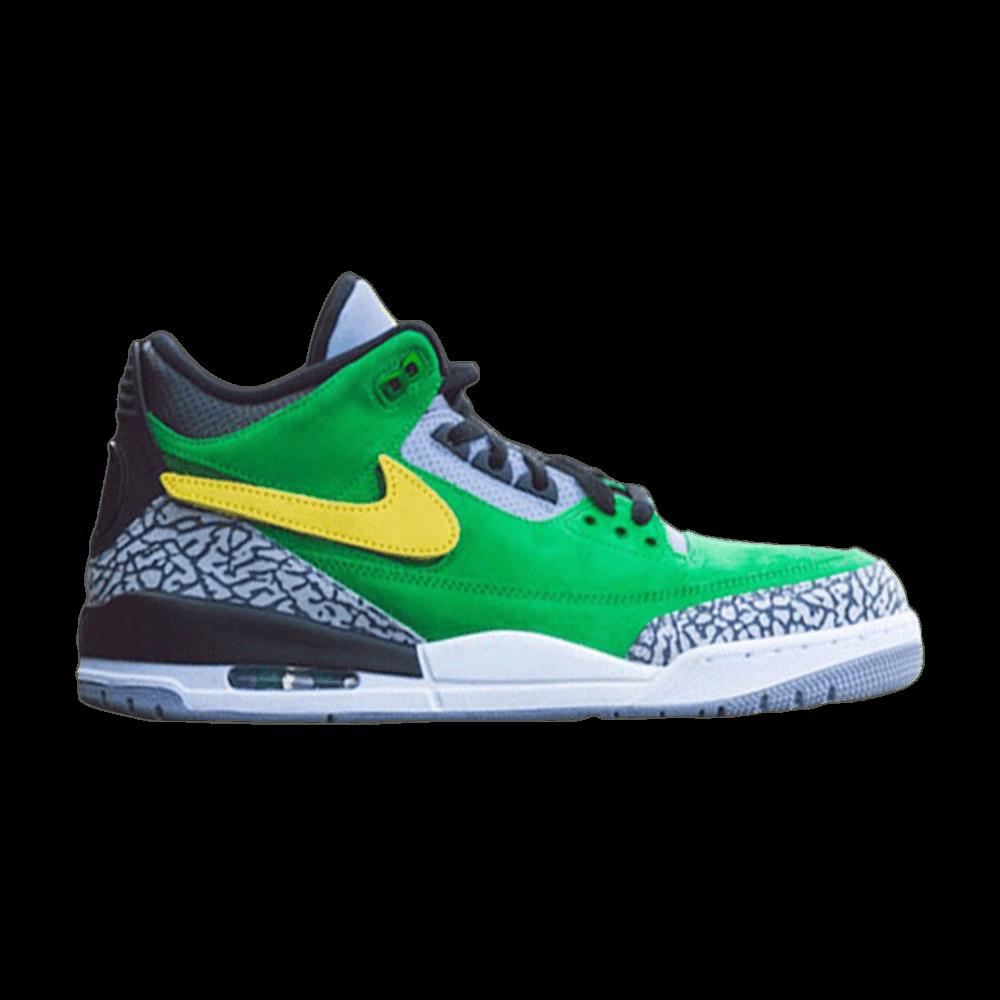 6369d2471b3 Air Jordan 3 Retro 'Tinker - Oregon Ducks' PE - Air Jordan - AJ3 867493 |  GOAT