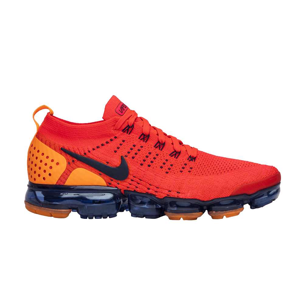 12de3d939114 Air VaporMax 2 Flyknit  Red Orbit  - Nike - AR5406 600