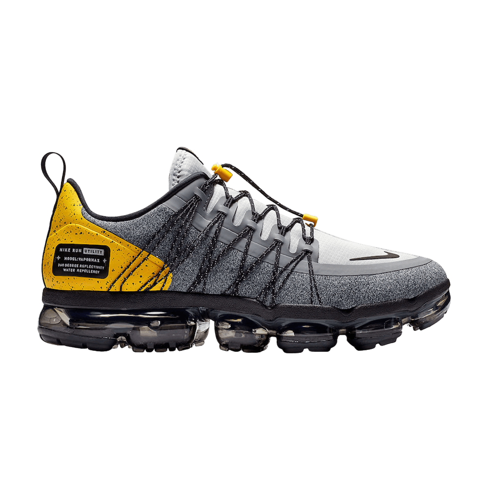 376b161f241 Air VaporMax Run Utility  Grey Amarillo  - Nike - AQ8810 010