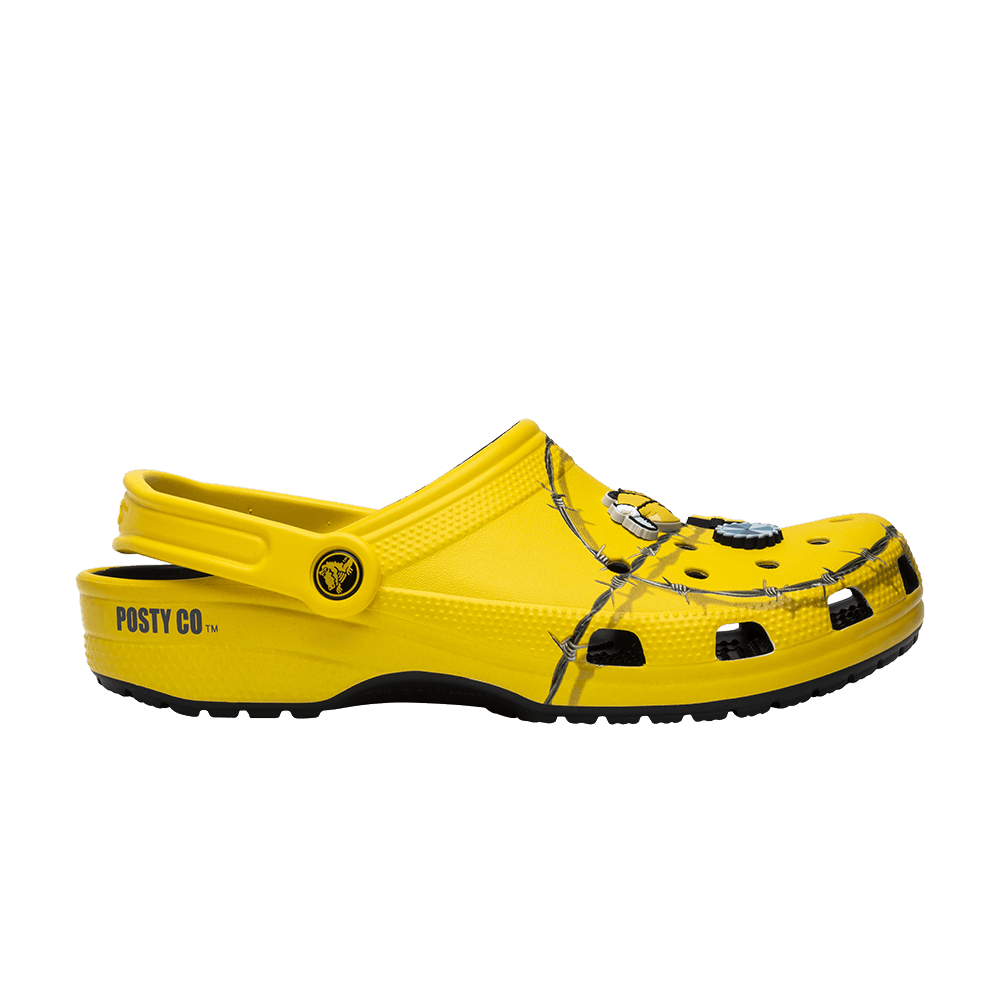 Post Malone X Clog 'Barbed Wire' - Crocs - 206038 730