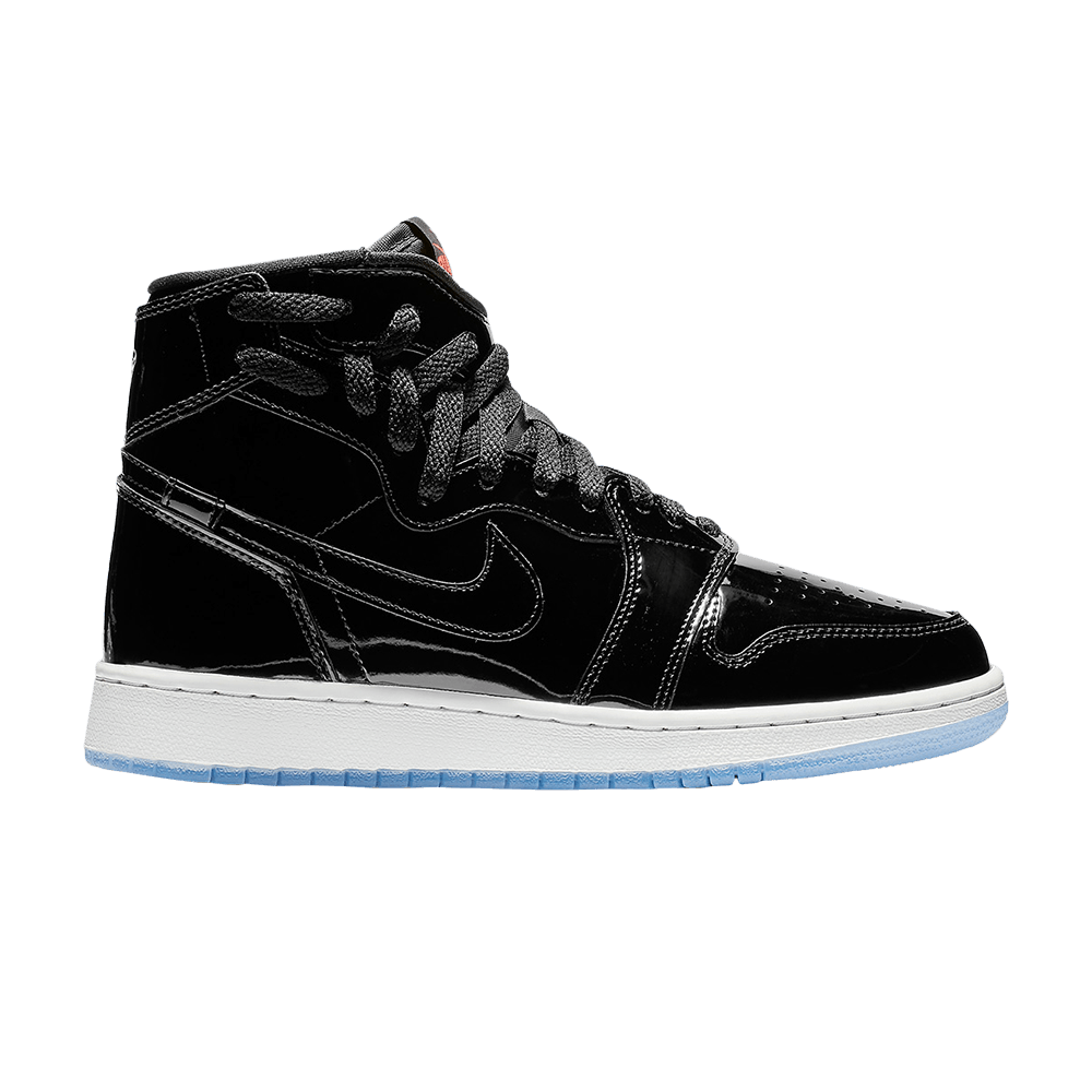 d89e4a527beb85 Wmns Air Jordan 1 Rebel XX  Black Patent  - Air Jordan - AR5599 001 ...