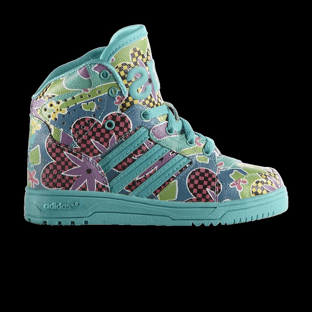 15b744bb1549 Jeremy Scott x Instinct Hi Floral Infant - adidas - S77813