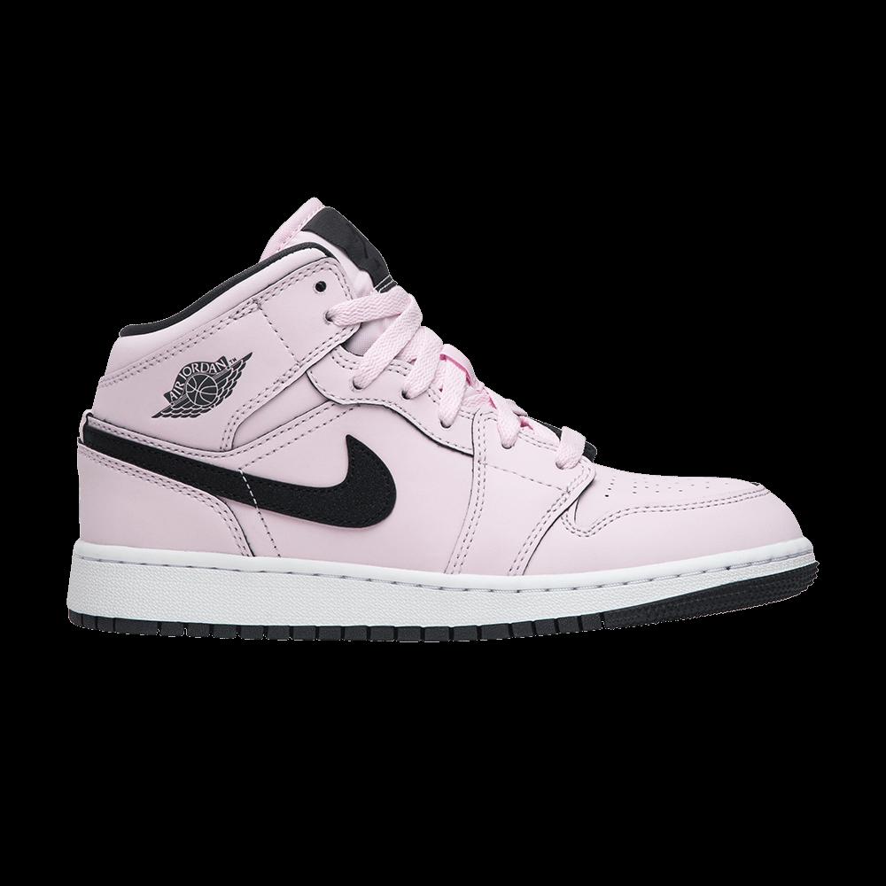 sports shoes dd8e3 6d04d Air Jordan 1 Mid GS 'Pink Foam'