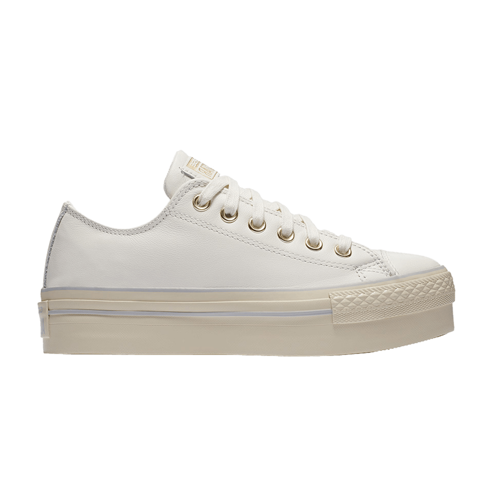 Chuck Taylor All Star Leather Platform Ox 'Star White