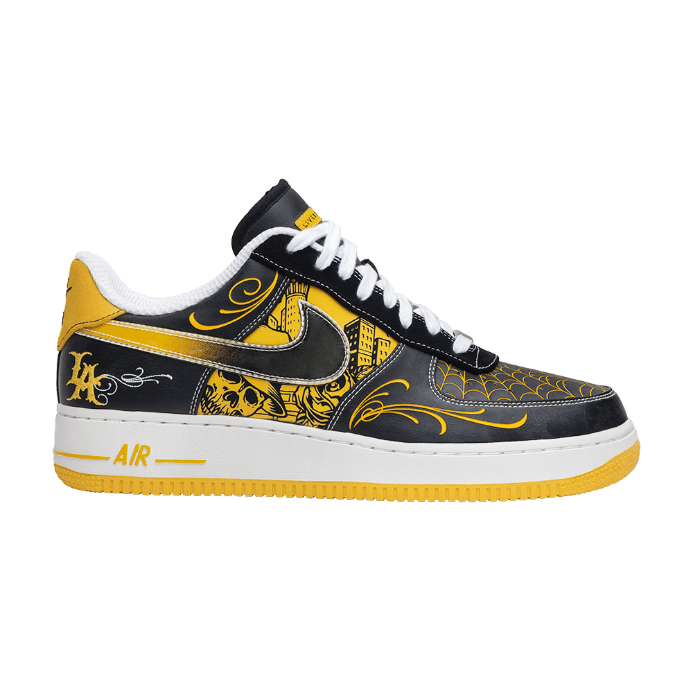 2be0642f153 Livestrong x Air Force 1 Low Supreme TZ LAF  Mr. Cartoon  - Nike - 378126  071