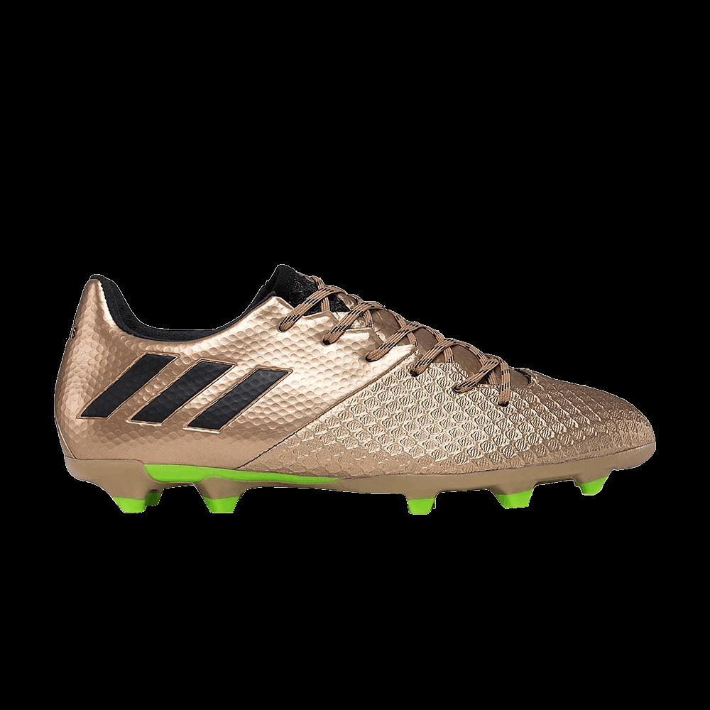 Adidas BA9834 | Men's Adidas Messi 16.2 FG Copper Metallic