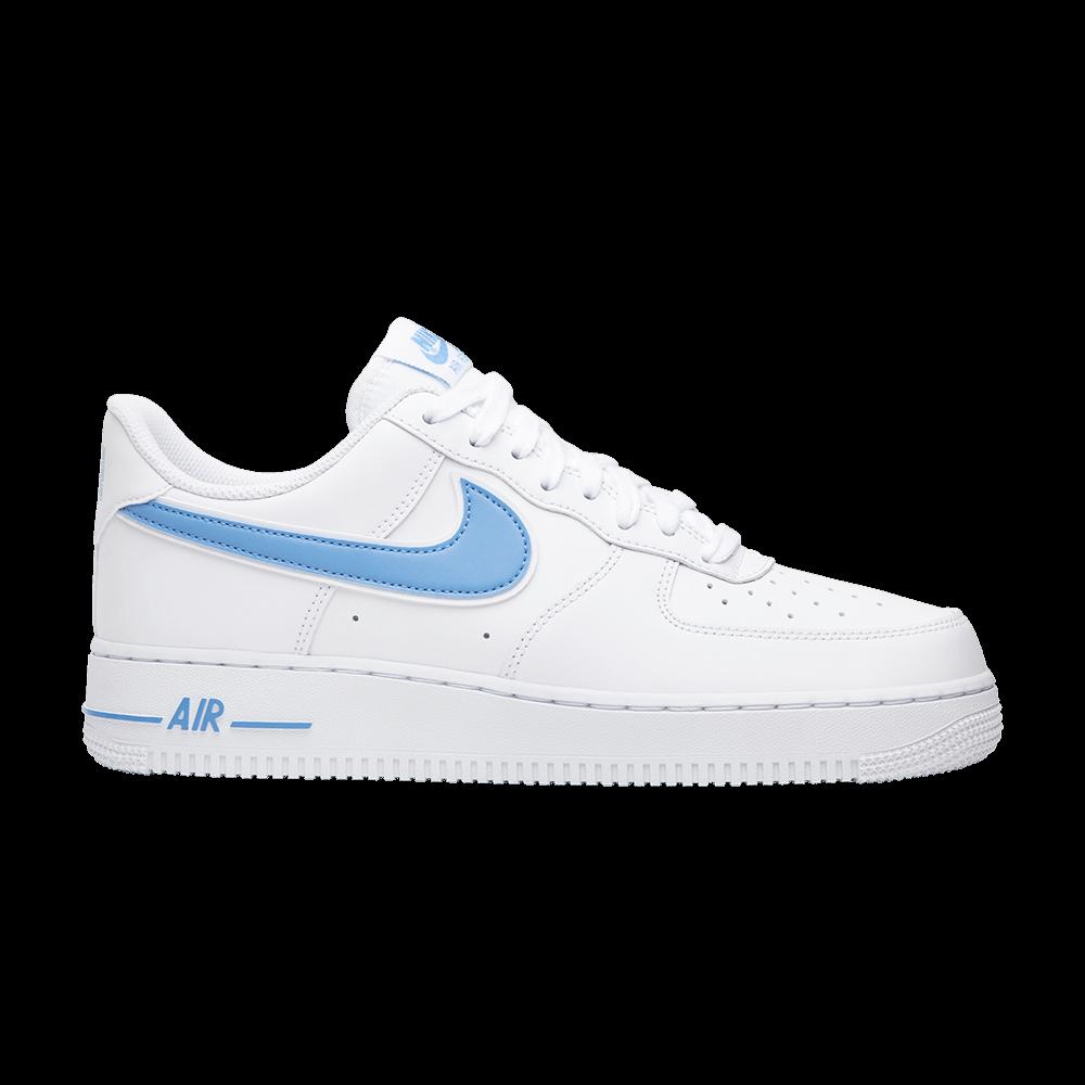 30605b0ff0 Air Force 1 '07 Low 'University Blue' - Nike - AO2423 100   GOAT