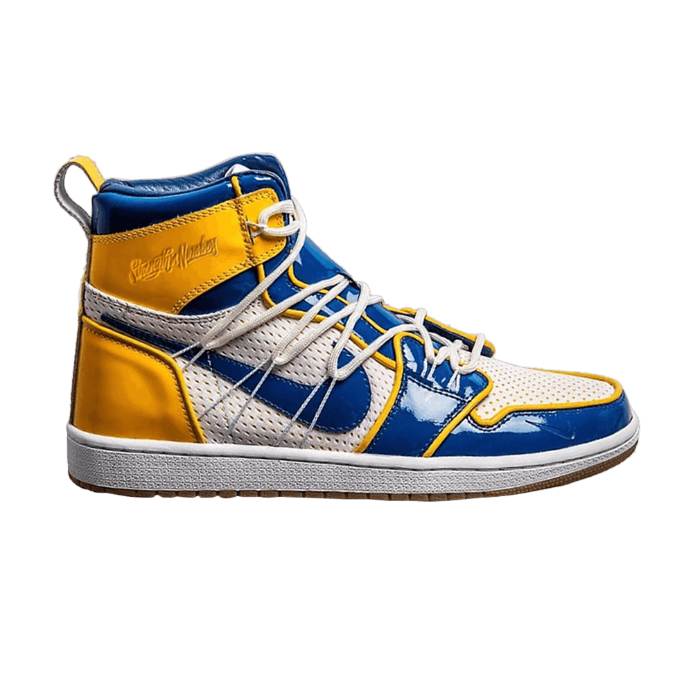 23420dd3e4b The Shoe Surgeon x Air Jordan 1 High 'Golden State Warriors' - Air Jordan -  TSS AJ1 GSW   GOAT