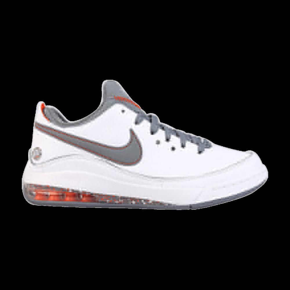 a4e3520288c1 Air Max LeBron 7 Low  White Cool Grey  - Nike - 395717 103