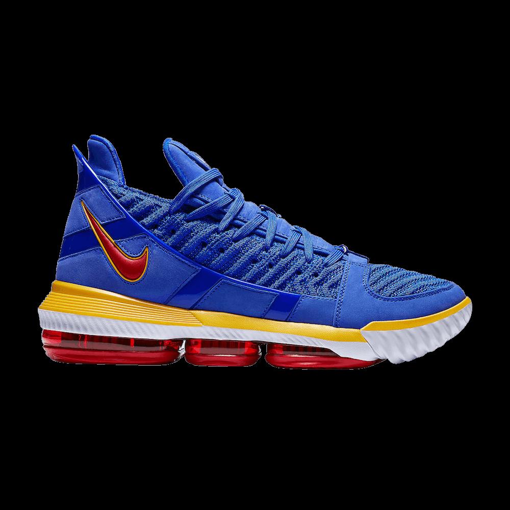 79b182de1906 LeBron 16  Blue SuperBron  - Nike - CD2451 400