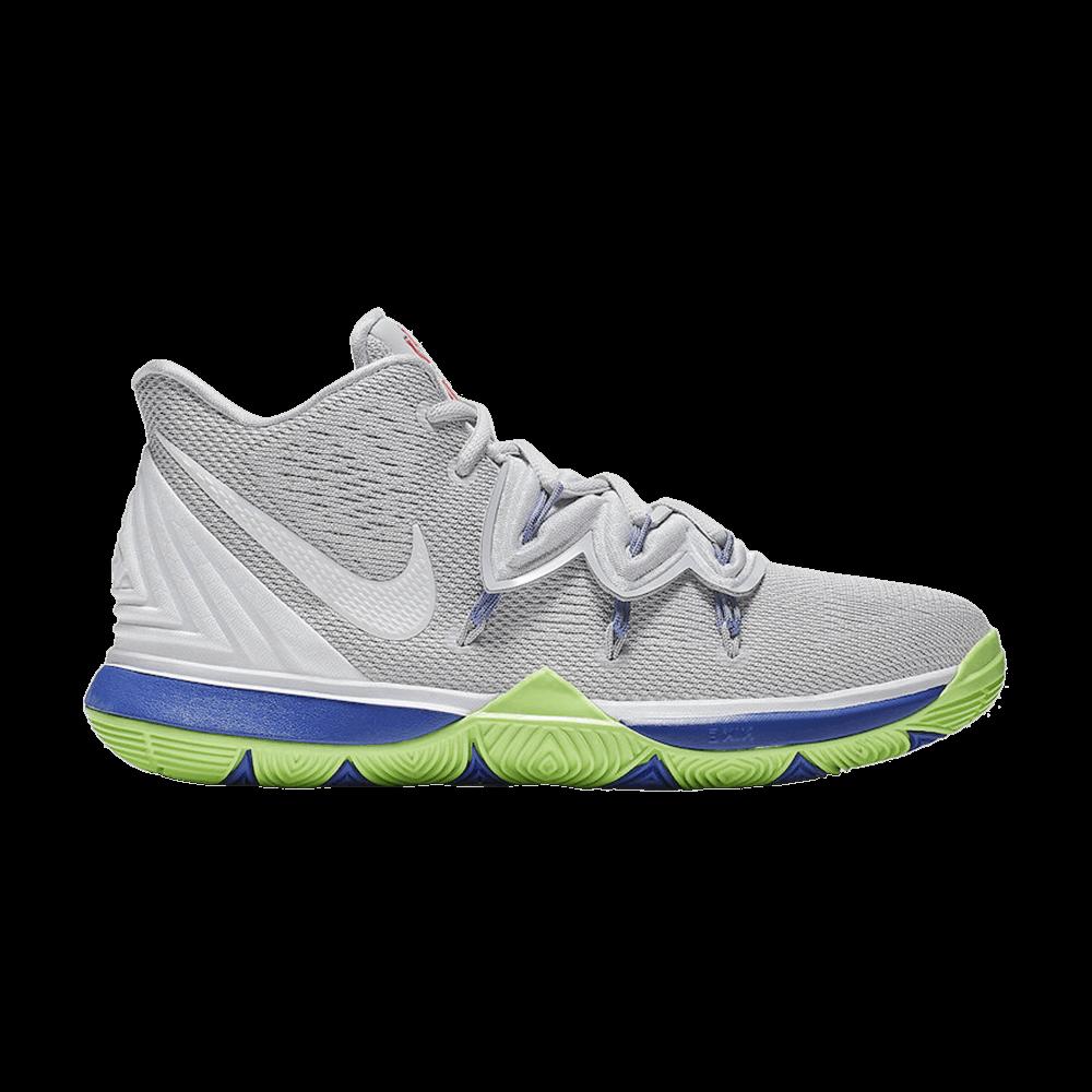 2dbaee9ab05 Kyrie 5 GS  Wolf Grey Lime  - Nike - AQ2456 099