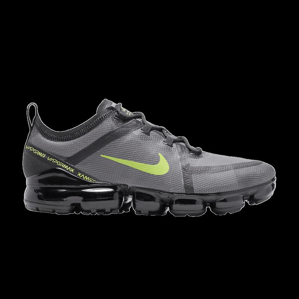 0cbb1ee905227 Air VaporMax 2019 'Wolf Grey Volt' - Nike - CI6400 001   GOAT