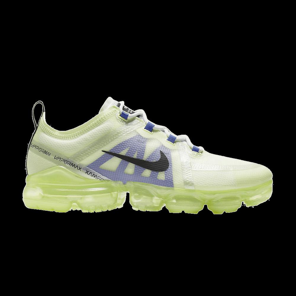 98ac306723 Air VaporMax 2019 'Barely Volt' - Nike - AR6631 702 | GOAT