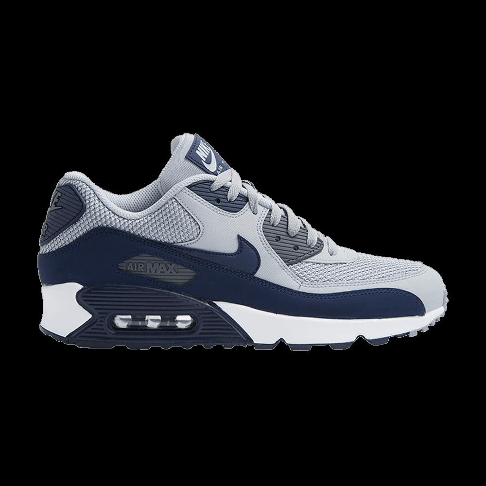 Nike Air Max 90 Essential Wolf Grey Binary Blue 537384 064