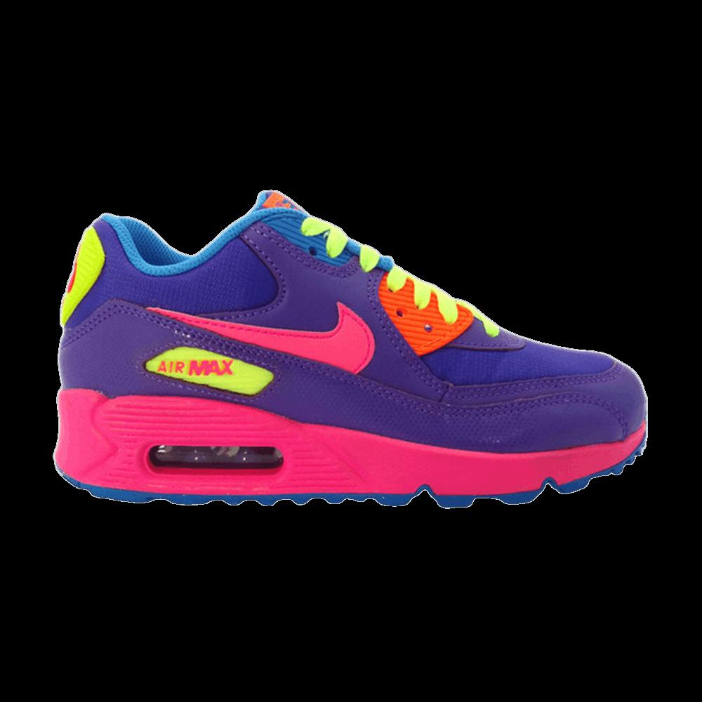 Air Max 90 GS 'Hyper Grape' Nike 345017 503   GOAT