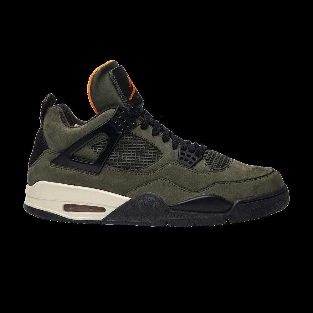 sports shoes 69dbb adb32 Undefeated x Air Jordan 4 Retro