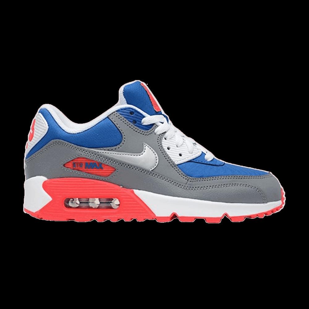 Air Max 90 GS 'Military Blue Metallic Silver' Nike