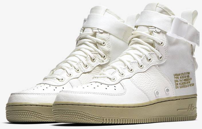 low priced 8c568 dcfa4 nike wmns special field air force 1 mid ivory ... b47ee62a94