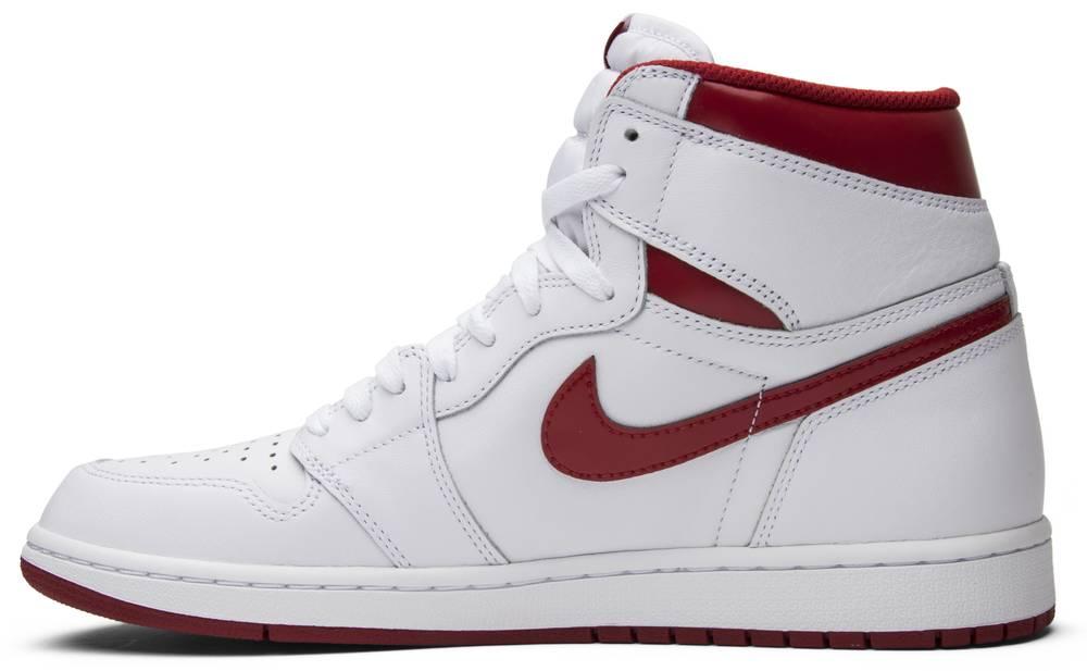 the latest 054d3 8610d ... white black varsity red b9277 a6517  discount air jordan 1 retro high  og metallic red 48a93 58433