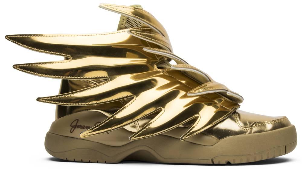 Jeremy Scott x Wings 'Solid Or' adidas B35651 GOAT GOAT B35651 afc01d
