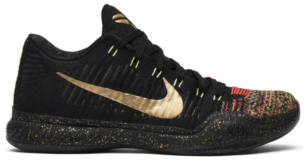 Kobe 10 Elite Low \'Christmas\' - Nike - 802560 076 | GOAT