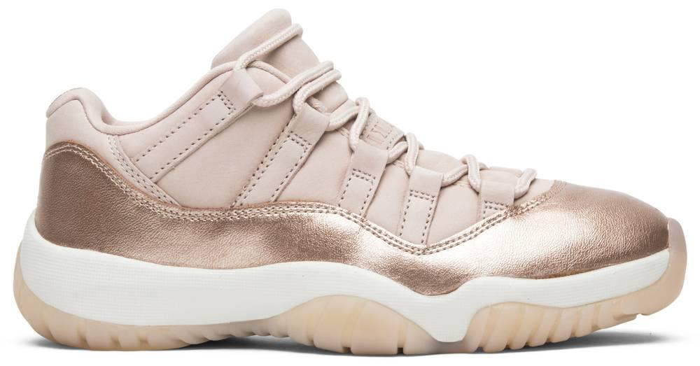 Wmns Air Jordan 11 Low 'Rose Gold'