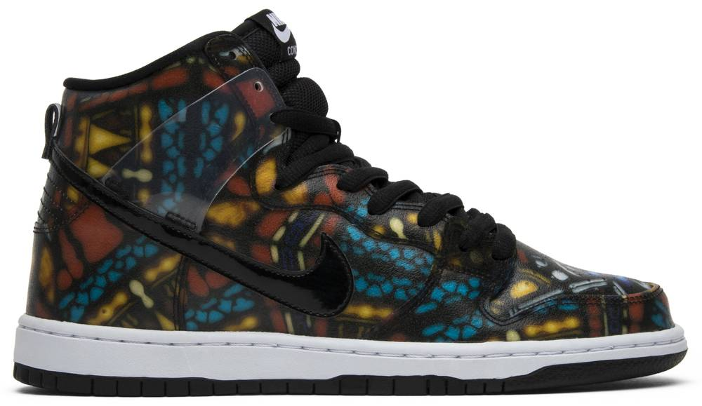 quality design 476a5 54d20 ... clearance concepts x sb dunk high stained glass. the nike f7512 d1db5