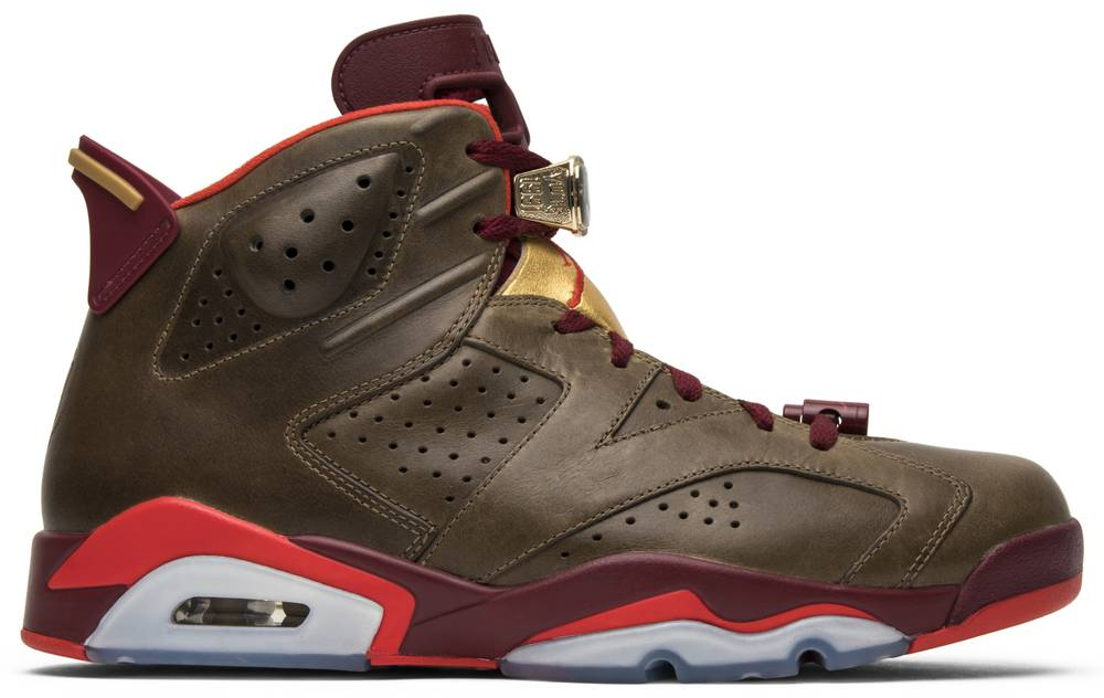brand new 1080b 54d35 australia air jordan 6 retro cigar 25292 7c60b