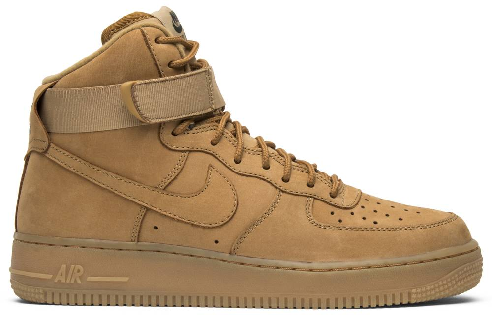 Air Force 1 High 'Flax'