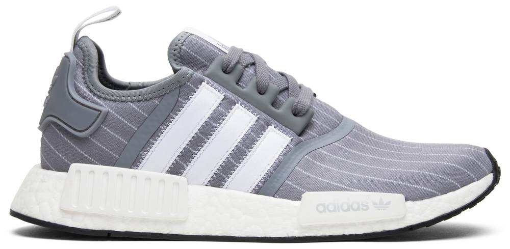 Bedwin The Heartbreakers x NMD R1 'Gris Pinstripe' adidas