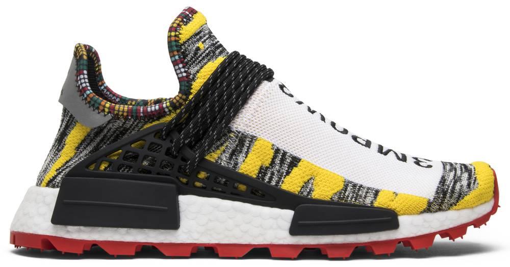 f3326d58b9bd1 Adidas BB9527 Solar HU NMD Pharrell Human Race Trail  Solar Pack  US ...